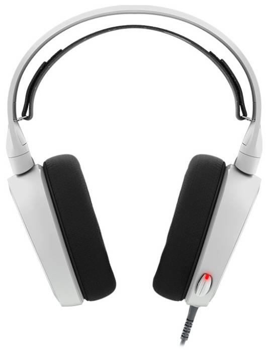 Наушники с микрофоном Steelseries Arctis 5 белый (61444) - фото 1