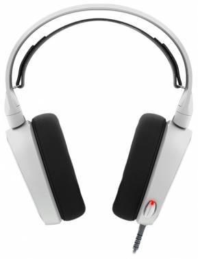 Наушники с микрофоном Steelseries Arctis 5 белый