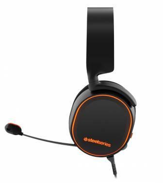Наушники с микрофоном Steelseries Arctis 5 черный