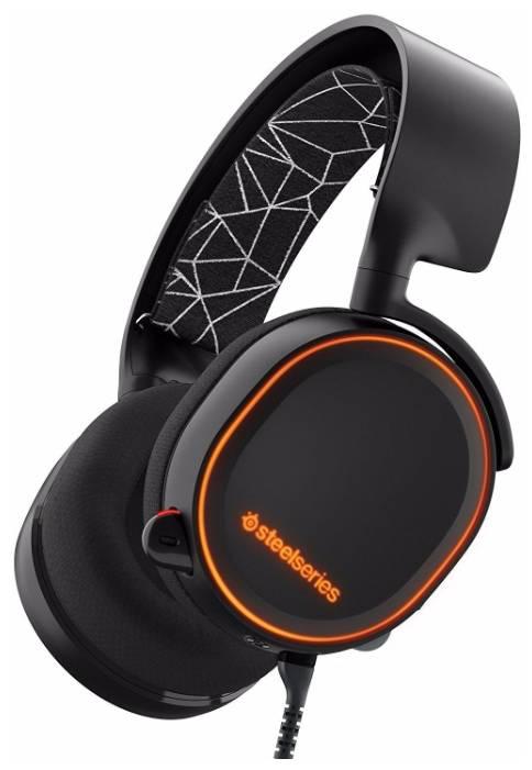 Наушники с микрофоном Steelseries Arctis 5 черный (61443) - фото 3
