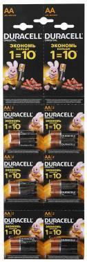 Батарея AA Duracell Basic LR6-2BL (12шт)