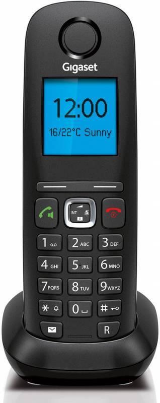 Телефон IP Gigaset A540 IP черный - фото 2