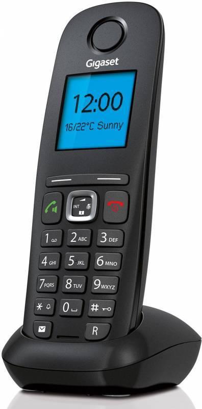 Телефон IP Gigaset A540 IP черный - фото 3