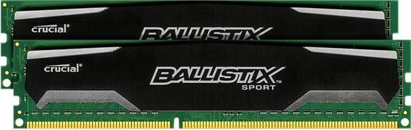 Модуль памяти DIMM DDR3 2x2Gb Crucial BLS2CP2G3D1609DS1S00CEU - фото 1