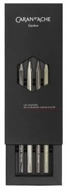 Набор карандашей чернографитовых Carandache Crayon (361.414) HB парфюм. (4шт)