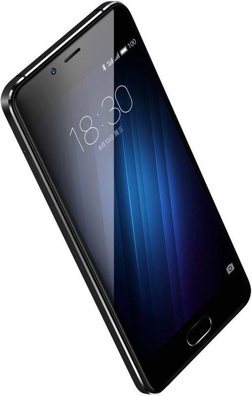 Смартфон Meizu U10 16ГБ черный - фото 2
