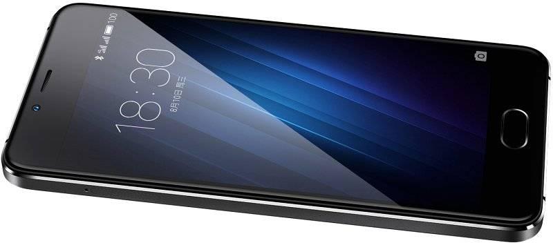 Смартфон Meizu U10 16ГБ черный - фото 3