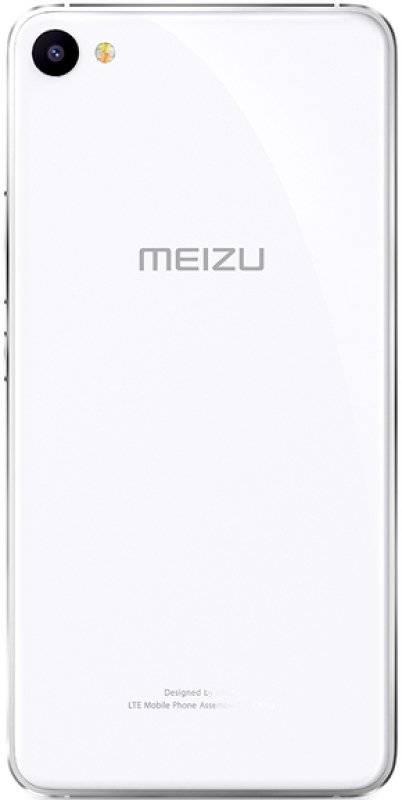 Смартфон Meizu U10 16ГБ серебристый/белый - фото 4