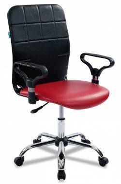 Кресло Бюрократ CH-596 / NE-13 красный