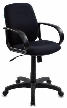 Кресло Бюрократ CH-808-LOW / BLACK черный