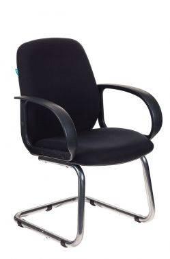 Кресло Бюрократ CH-808-Low-V черный (CH-808-LOW-V/BLACK)