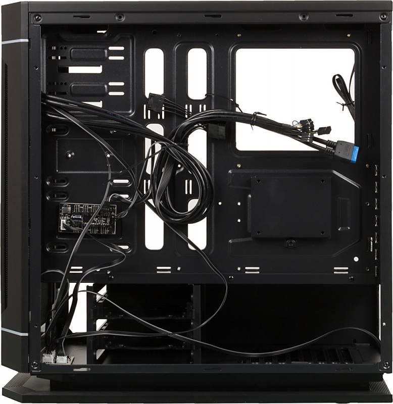 Корпус ATX Aerocool Dead Silence 230 Black Edition черный (DS 230 BL) - фото 7