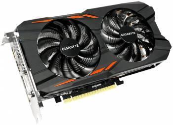 Видеокарта Gigabyte GeForce GTX 1050 Windforce OC 2G 2048 МБ (GV-N1050WF2OC-2GD)