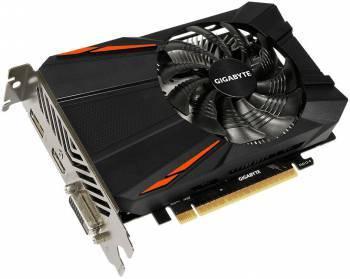 Видеокарта Gigabyte GeForce GTX 1050TI D5 4G 4096 МБ