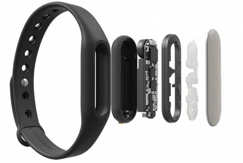 Фитнес-трекер Xiaomi Mi Band 1s Pulse черный/серебристый - фото 2