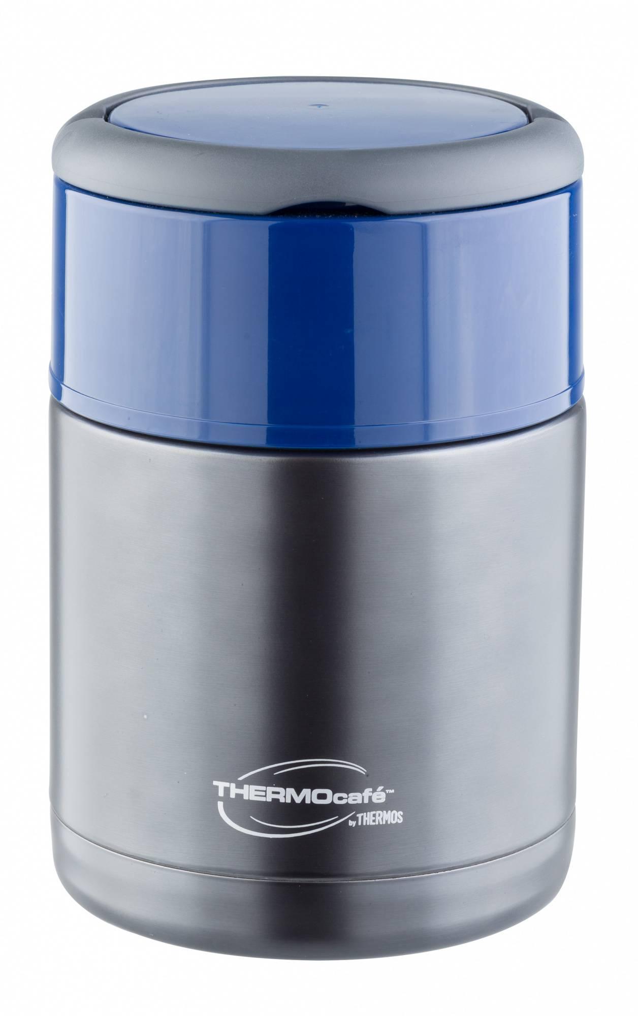 Термос Thermos THERMOcafe TS3506 Navy серый - фото 1