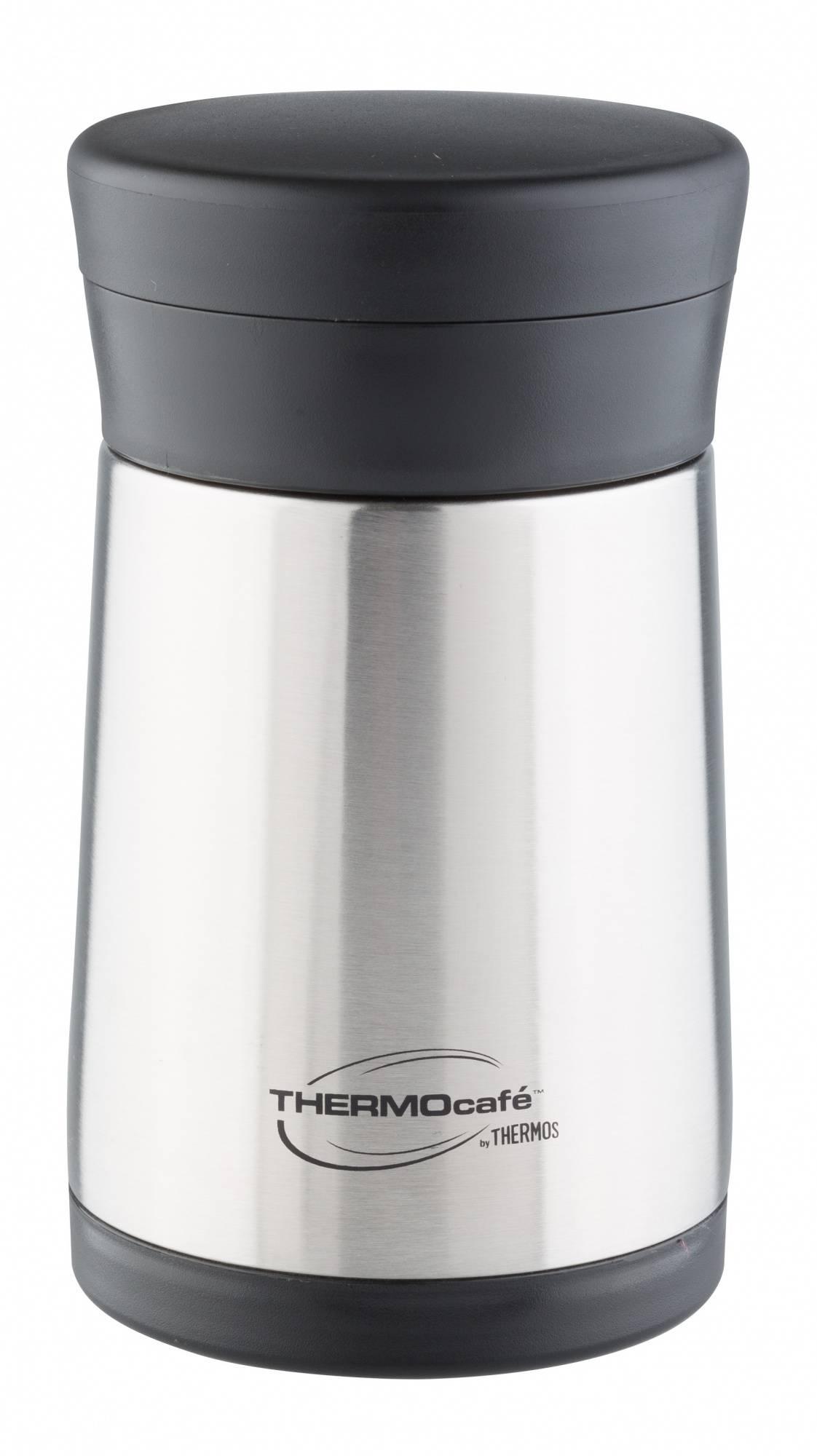 Термос Thermos THERMOcafe XC05-BK SBK стальной (272362) - фото 1