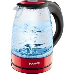 Чайник электрический Scarlett SC-EK27G96 красный