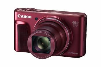 Фотоаппарат Canon PowerShot SX720HS красный