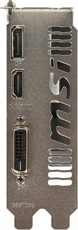 Видеокарта MSI GTX 1050 TI 4GT OC 4096 МБ - фото 3