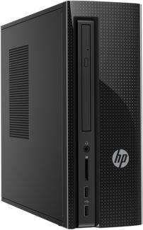 Системный блок HP 260-a120ur черный