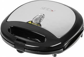 Сэндвичница Sinbo SSM 2517W черный / серебристый
