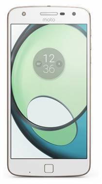 Смартфон Motorola MOTO Z Play 32ГБ белый / золотистый