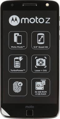 Смартфон Motorola MOTO Z 32ГБ черный/серый (SM4389AE7U1)