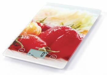 Кухонные весы Supra BSS-4201 красный