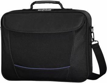 Сумка для ноутбука Hama Seattle Life черный, полиэстер, рекомендуемая диагональ 17.3, съемный ремень, карманов внешних: 2шт, карманов внутренних: 1шт (00101293)