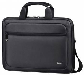 Сумка для ноутбука Hama Nice Life черный, политекс, рекомендуемая диагональ 15.6, съемный ремень, карманов внешних: 1шт (00101522)