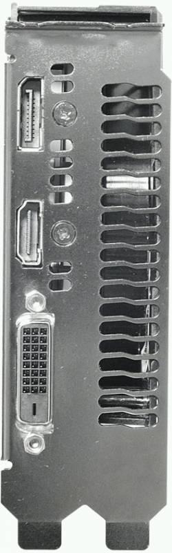 Видеокарта Asus EX-GTX1050TI-4G 4096 МБ - фото 3
