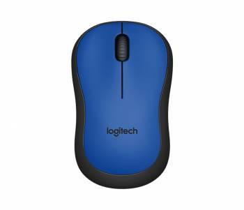 Мышь Logitech M220 Silent синий