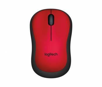 Мышь Logitech M220 Silent красный