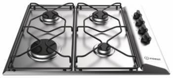 Газовая варочная поверхность Indesit PAAI 642 IX / I нержавеющая сталь