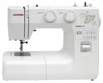 Швейная машина Janome Juno 513 белый