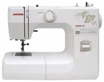 Швейная машина Janome Juno 507 белый