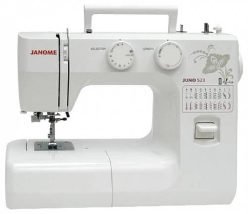 Швейная машина Janome Juno 523 белый - фото 1