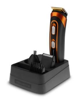 Триммер Rowenta TN9100F0 черный/оранжевый (1830006137)