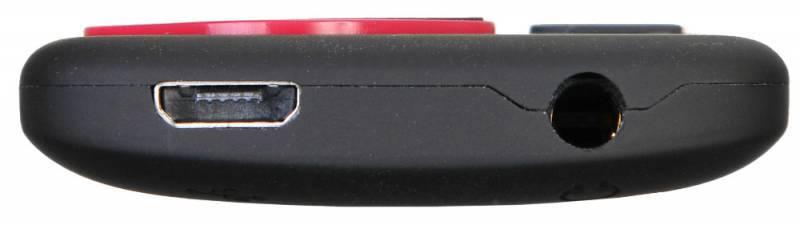 Плеер Digma Cyber 3L 4ГБ черный/красный (CYB3LB) - фото 4