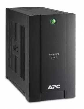 ИБП APC Back-UPS BC750-RS черный