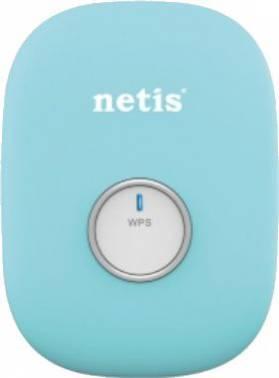 Повторитель беспроводного сигнала Netis E1+ голубой