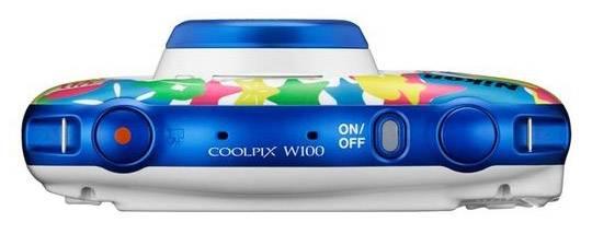 Фотоаппарат Nikon CoolPix W100 аквамарин (VQA014K001) - фото 5