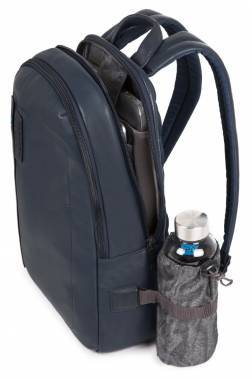 Рюкзак Piquadro Pulse синий, кожа натуральная (CA3869P15/BLU3)