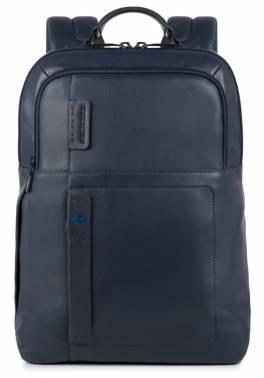Рюкзак Piquadro Pulse CA4174P15 / BLU3 синий натур.кожа