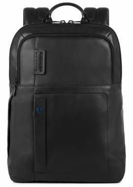 Рюкзак Piquadro Pulse черный, кожа натуральная (CA4174P15/N)