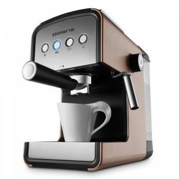 Кофеварка эспрессо Polaris PCM 1526E Adore Crema шампань