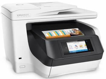 МФУ HP OfficeJet Pro 8730 e-AiO белый / черный