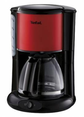 Кофеварка капельная Tefal CM361E38 красный
