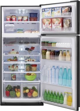 Холодильник Sharp SJ-XE59PMSL серебристый